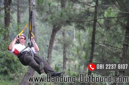 paket-outbound-flying-fox-cikole-lembang-1